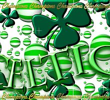 Celtic Football Champions Design by Sookiesooker