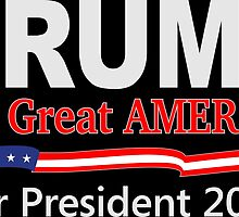 Donald Trump for Great America by ozdilh