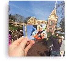 Disneyland Main Gate Metal Print
