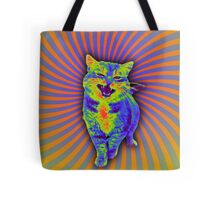 Psychedelic Kitty (Remaster) Tote Bag
