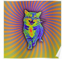 Psychedelic Kitty (Remaster) Poster