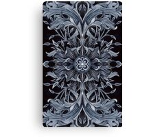 - Black pattern - Canvas Print