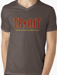 TP/AIT Mens V-Neck T-Shirt