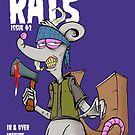 Rats issue #2 comic book cover by eyespyeye