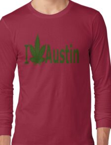 0094 I Love Austin Long Sleeve T-Shirt