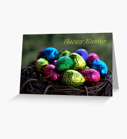 Easter Egg Nest Greeting Card