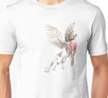 Sketch -- Mythological House Griffin: Robin Variety Unisex T-Shirt
