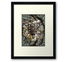 Poseidon- God of the Sea, Earthquakes, Horses, a Shapeshifter Framed Print