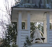 Cades Cove Chapel Bell by JeffeeArt4u