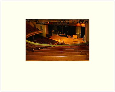Inside Ryman Auditorium, Nashville, Tennessee by AuntDot