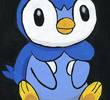 Piplup the Penguin Pokemon by satchmo395