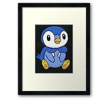 Piplup the Penguin Pokemon Framed Print