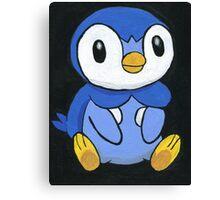 Piplup the Penguin Pokemon Canvas Print