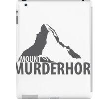 Mount Murderhorn iPad Case/Skin