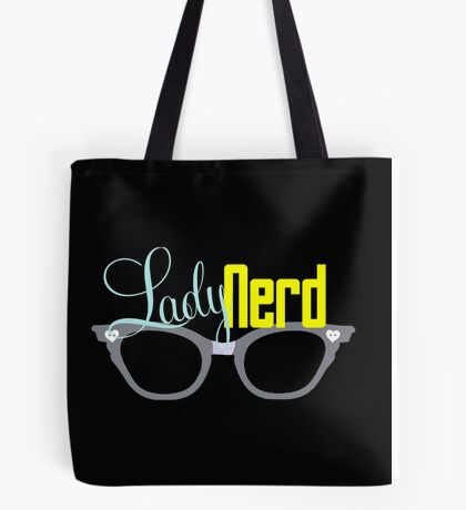 Proud LadyNerd (Grey Glasses) Tote Bag