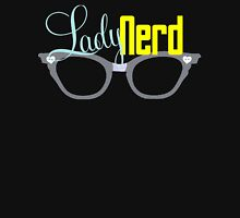 Proud LadyNerd (Grey Glasses) Womens Fitted T-Shirt