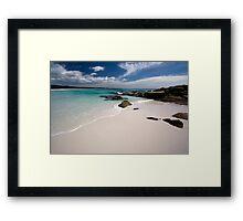 Bay of Fires   - Tasmania coast  Framed Print