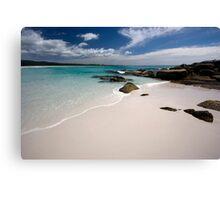 Bay of Fires   - Tasmania coast  Canvas Print
