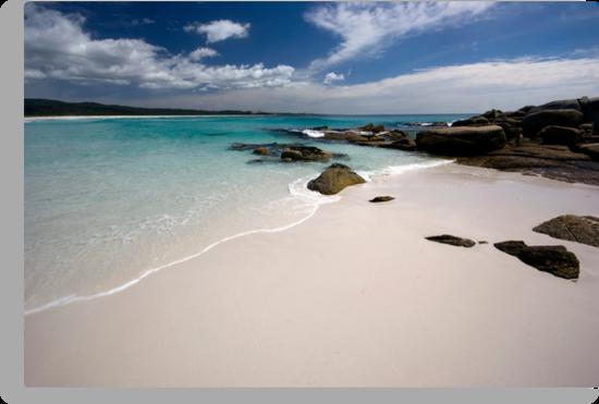 Bay of Fires   - Tasmania coast  by Jenny Dean