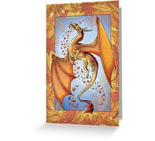 The Dragon of Autumn Greeting Card