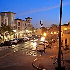 Last Sunlight Evening Lamp Lights - Balcony View - San Diego © 2010 by Jack McCabe