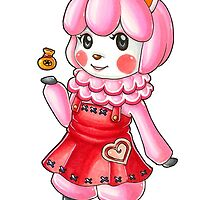 ACNL: Reese Sticker by rabbitflesh