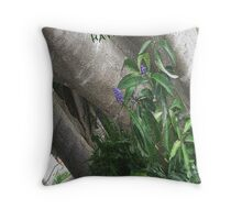 '' HAVE A LOVELY DAY '' GIFT CARD of TREE'S & FLOWERING SHRUBS Throw Pillow