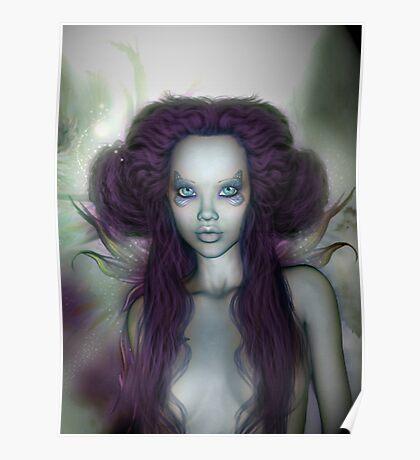 Fairie Blue Poster