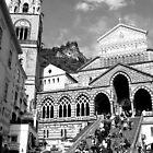 Amalfi Coast Church by Dana Roper