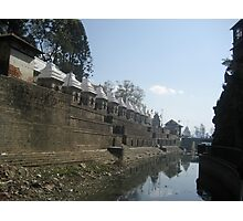 TEMPLES OF PASHUPATINATH Photographic Print