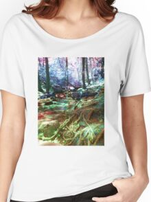 psychedelic forest Women's Relaxed Fit T-Shirt