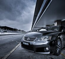 HDR Lexus ISF in Eastern Creek by Martin K. Lee