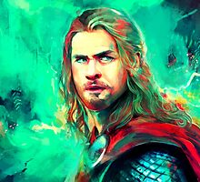Thor by sorceressink