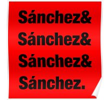 All of the Sánchez Poster