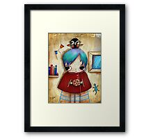 owl and friends Framed Print