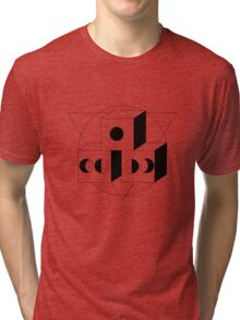 The Moon, The Triangle and The Cube Tri-blend T-Shirt
