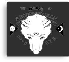 Ouija Wolf  Canvas Print