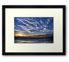 Royal Sunset Framed Print