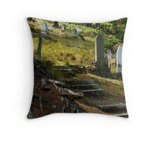 Walhalla Cemetery Throw Pillow