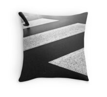 Racing to a Brighter Day Throw Pillow