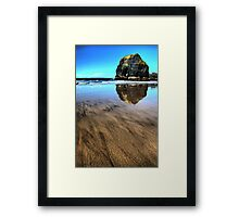 Virgin Rock Seascape - Ballybunion Framed Print