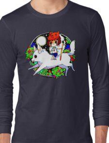 Cute Wolf Princess Long Sleeve T-Shirt
