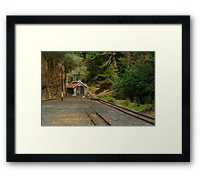 Railway Coach Shed,Walhalla  Framed Print