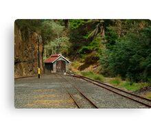 Railway Coach Shed,Walhalla  Canvas Print