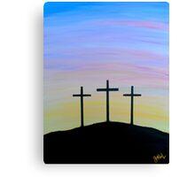"""The Three Crosses"" Canvas Print"