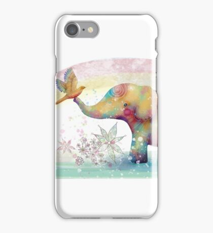The Indigo Elephant iPhone Case/Skin
