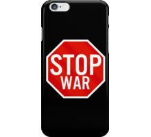 Stop War iPhone Case/Skin