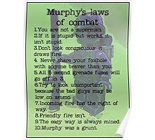 Murphy was a grunt, by Tim Constable Poster