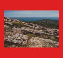 Rocky Coastal Terrain, in Maine  Baby Tee