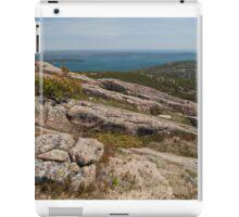 Rocky Coastal Terrain, in Maine  iPad Case/Skin